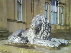 Lion at Heaton Hall