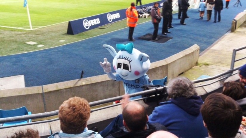 Moonbeam - one of the City mascots