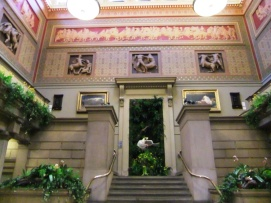 Stunning entrance to the Manchester Art Gallery