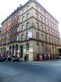 This is near Chinatown, a building typical of the area here