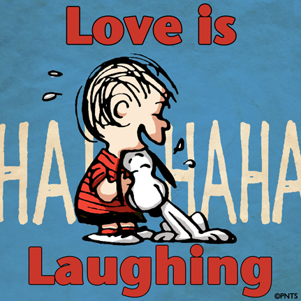 snoopy love is