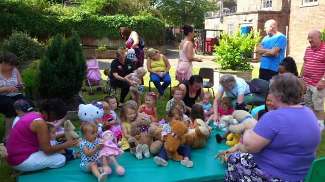 stay and play teddy bears picnic