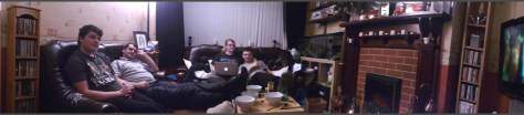 panorama of living room