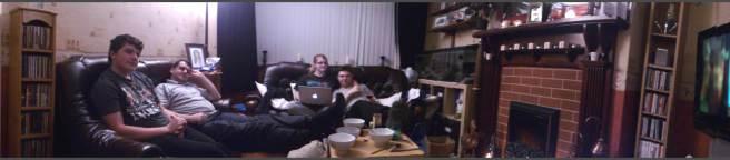 panorama of living room