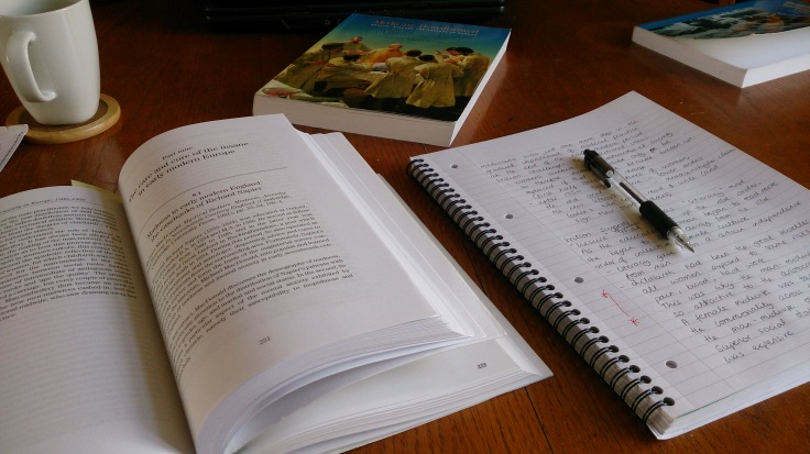 Revision session, 3 weeks until the exam....eek!