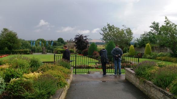 Remembrance garden in Coldstream