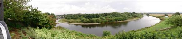 Curve in the River Tweed