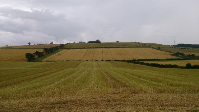 Flodden Battlefield looking at Branxton Hill