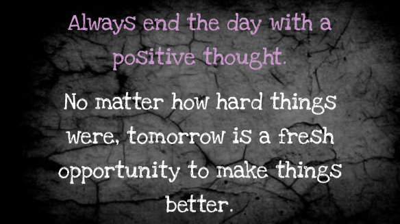 Kevin Henkes Quote Today Was A Difficult Day Tomorrow: Positive Thought Wall