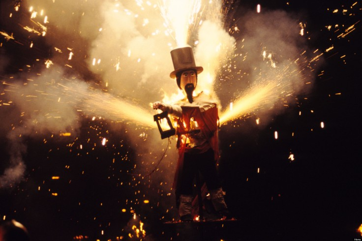 Guy Fawkes November 5th Bonfire night Lewes Sussex England HOMER SYKES