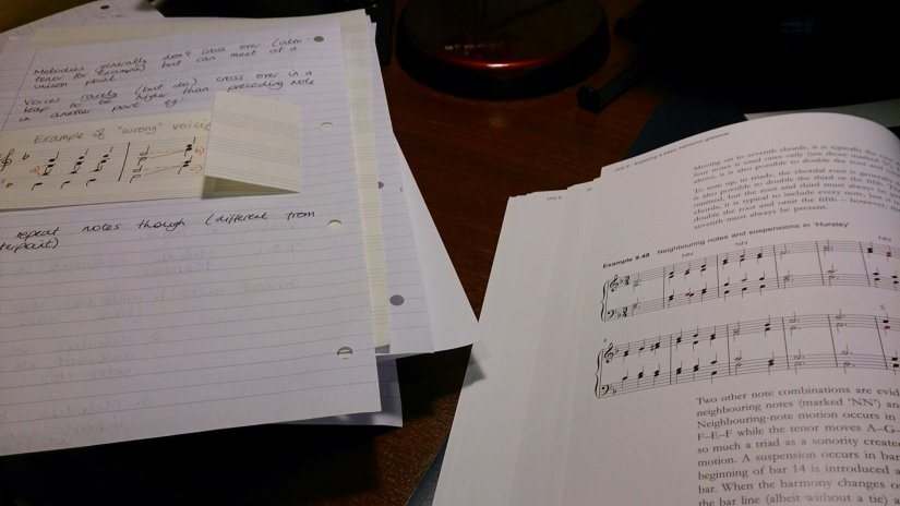 Inside Music - degree level harmony, lesson 1