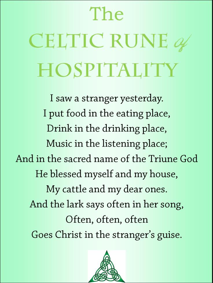 celtic rune of hospitality for wp