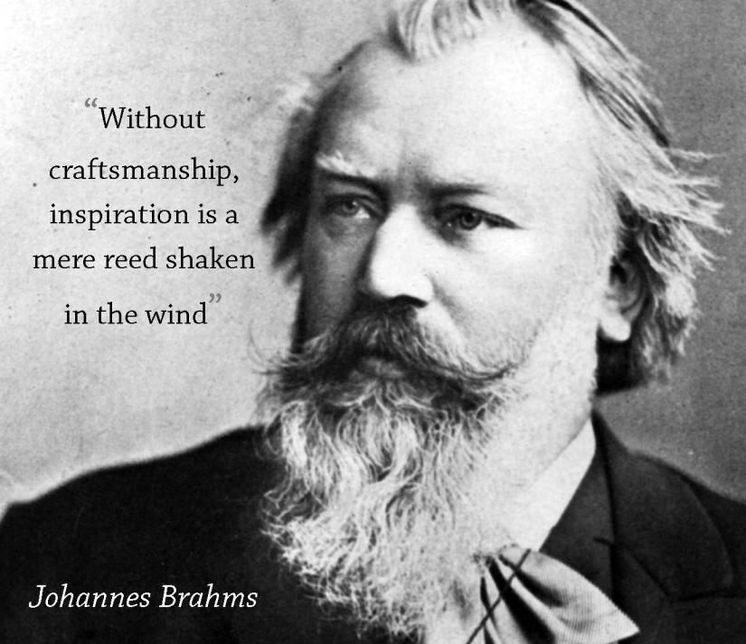 Brahms quote mine