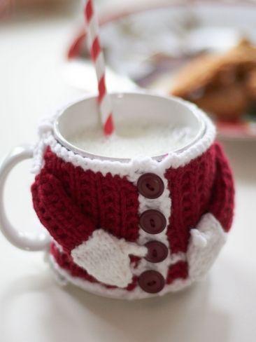 santa mug cosy