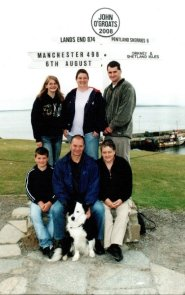 The whole family, John o'Groats
