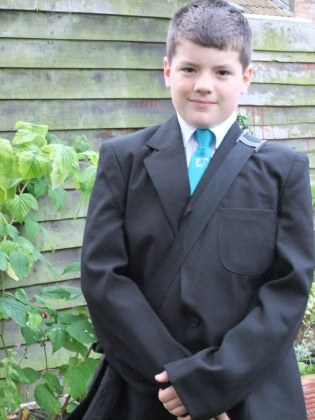 First day of secondary school