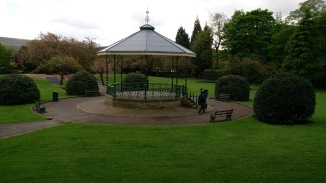 Hare Hill Park in Littleborough - site of our concert this afternoon