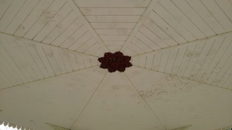 Roof of the bandstand