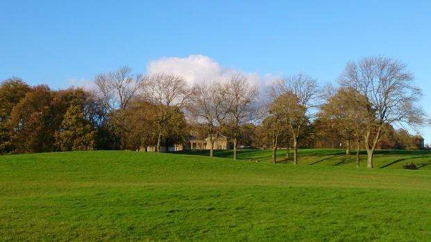A view of Heaton Hall